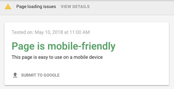 Google Mobil Uyumlu Websitesi
